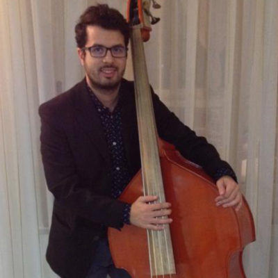 Andrea Infusino on doublebass