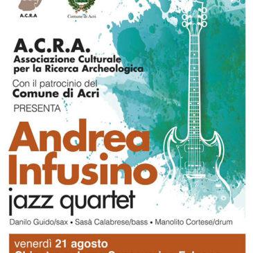 Andrea Infusino Quartet live in ACRI