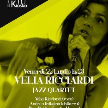 Velia Ricciardi quartet 22 luglio 2016 a CZ lido