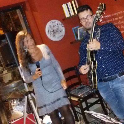 Velia Ricciardi e Andrea Infusino jazz Duo @ Aleph Crotone