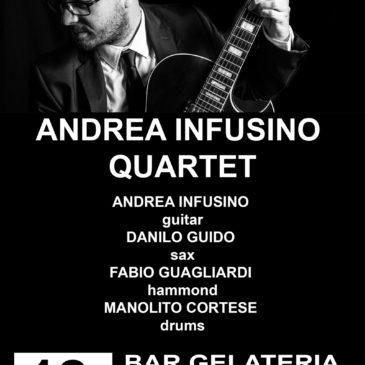 Andrea Infusino Quartet @ Acri 12 ago 2016