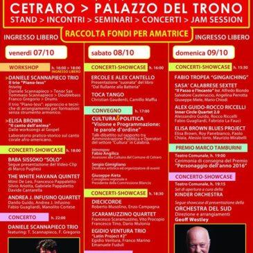 Andrea J Infusino Quartet – Showcase Peperoncino Jazz 2016
