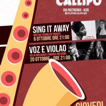"""Con Velia Ricciardi in """"Voz e Violao"""""""
