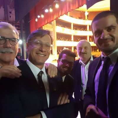 Italian Swing Quintent al Teatro Rendano per Oncorosa