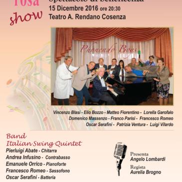 Oncorosa  – Teatro Rendano 15.12.2016