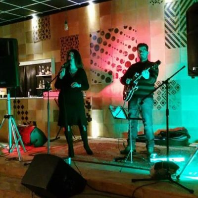 Velia Ricciardi Andrea Infusino live at Palco