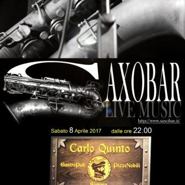 Andrea Infusino & Saxobar al Carlo Quinto