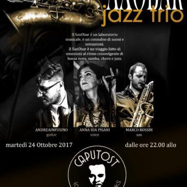 Saxobar live jazz @ Caputost 24.10.2017