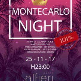 Montecarlo Night al Caffè Alfieri