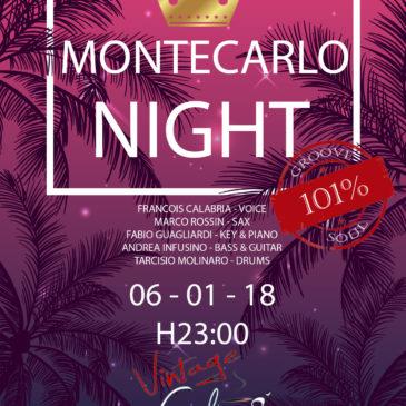 Montecarlo Night @ Vintage Cafè di Corigliano