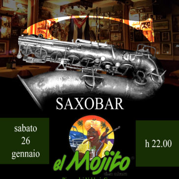 Live al Mojito 26.01.2019 con i Saxobar!