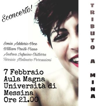 Tributo a Mina, 7 feb 2019, Università di Messina