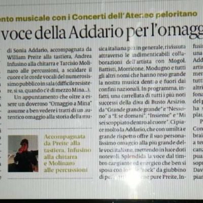 Rassegna Stampa - Gazzetta del Sud (Messina) del 11 febbraio 2019