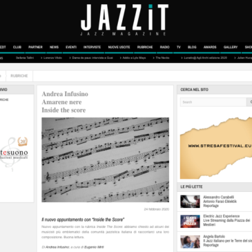Amarene nere, Inside the score di JazzIT