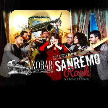 Saxobar al Sanremo Rock 2020!